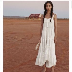 Spell and the Gypsy white Prairie Dress